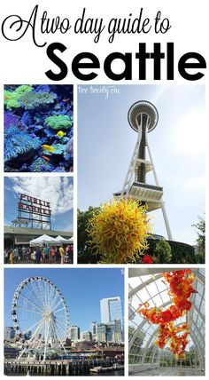 A two day guide to Seattle! Tips for traveling to Seattle with kids! Seattle Vacation, Vacation Spots, Visiting Seattle, Seattle Weekend, Seattle Travel Guide, Seattle Area, Tennessee Vacation, Vacation Trips, Vacation Ideas