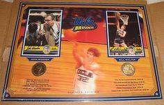 UCLA Bruins Bill Walton & John Wooden Signed Autographed Collage LOA RARE OOP