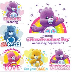 National Care Bears #ShareYourCare Day! - How do YOU Share YOU Care? You can…