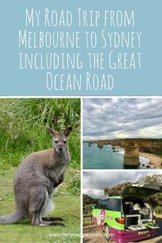 My Road Trip from Melbourne to Sydney including Great Ocean Road