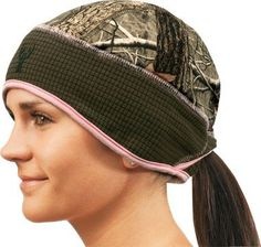 GIRLS HUNTING BEANIE! GREATEST invention EVER!!