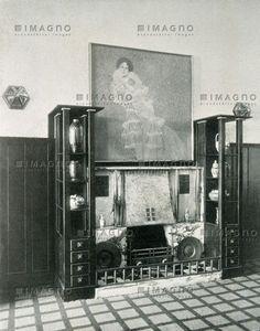 Halle einer Villa von Josef Hoffmann, © IMAGNO/Austrian Archives