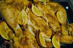 Mundfreude: Orientalisches Zitronen-Huhn