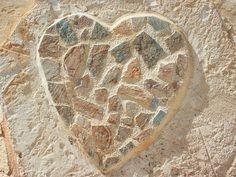 Art, Decoration, Heart, Love, Mosaic, Nature, Rock  http://pixabay.com/en/art-decoration-heart-love-mosaic-20448/