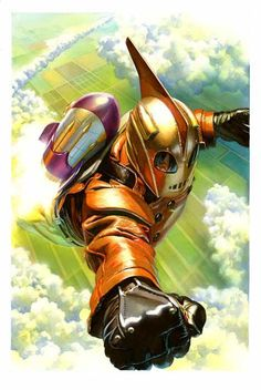 #Rocketeer #Fan #Art. By: Alex Ross.