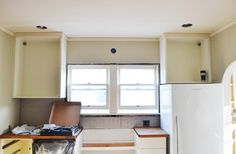 Hanging Kitchen Cabinets On Uneven Walls