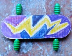 Hit the pint-size half-pipe on these Popsicle Stick Skateboards. These sports crafts for kids make fun toys because kids can use them as finger skateboards or have their favorite action figures show off some radical moves.