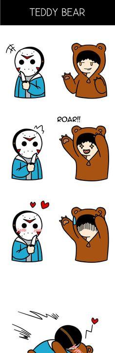 VanossGaming x H2O Delirious Comic (Teddy Bear) by MissyCatArt
