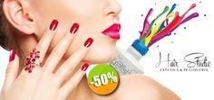 Hair Studio Estética y Peluquería - $290 en lugar de $580 por 1 Manicure + 1 Aplicación de Gelish + 1 Tratamiento Capilar Mythic Oil L'Oreal. Click:CupoCity.com
