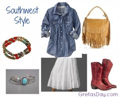 Southwest Style | How To Get The Look.I can help you achieve that southwest style look with my handmade native american jewelry