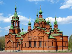 Alexander nevskey church, Chelyabinsk, Russia