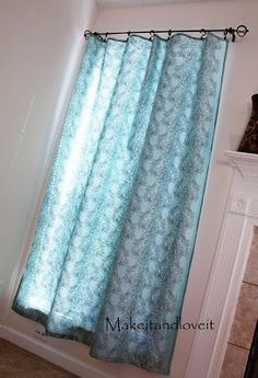 Decorate My Home, Part 1 - Simple Curtains | Make It and Love It