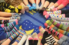 A Place Called Kindergarten: crazy socks day...