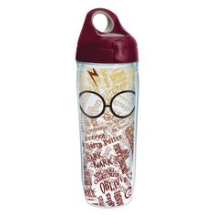 Tervis Tumbler Harry Potter Glasses and Scar Water Bottle 24 oz. Tumbler
