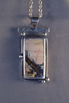 Willow Creek Jasper with Black Dendrites and by DarBreeDesigns, $145.00