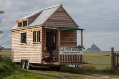 A tiny house form French builder, La Tiny House, the measures just 5.2 meters (17 ft) long!