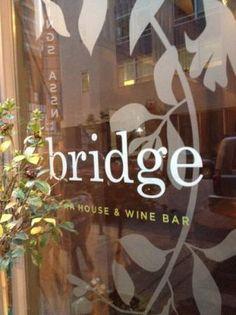 Bridge Tap House and Wine Bar, 1004 Locust, Downtown St Louis. American food, $-$$