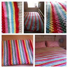 CK inspired blanket