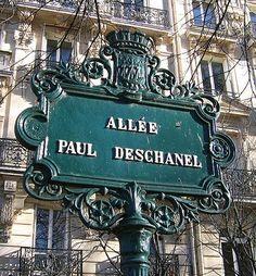 L'allée Paul-Deschanel (Paris 7ème).