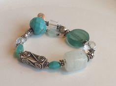 beautybrain bracelet...   lagoon