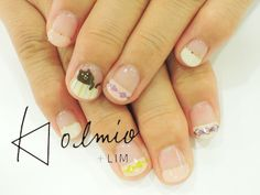 nail snap : アーガイル | 児島亜樹 | 28 SEP. 2014 | LIM | LESS IS MORE