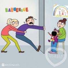 21 caricaturas que muestran el lado caótico de ser mamá | Blog de BabyCenter