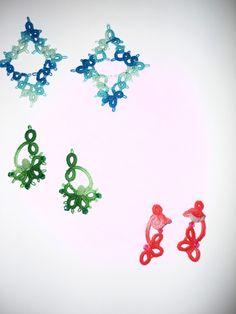 orecchini vari colori