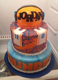 1000 Images About Okc Thunder On Pinterest Thunder Cake