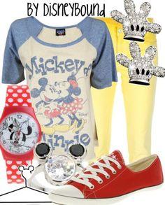 Fictional Fashion: Mickey Mouse