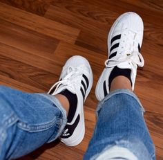 #Adidas #superstar with #girlfriend #jeans.. Perfect #outfit