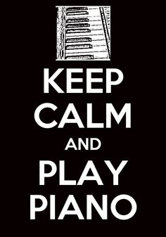 For me..it is Play Piano to Keep Calm. I miss my piano...