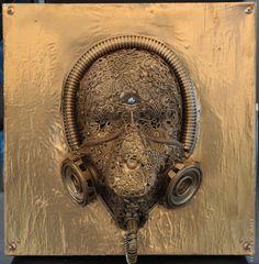 #ilragazzo6 #numbersix #mixedmediapaint #collage #face #cyberpunk #cybermask #cyborg #goth #victorian #macrame #antigas #antigasmask #psichedelic #studio #trip #perturbation #afrodite #destructivepassion #armony #union #goldcolor #courage #potency #spiritual #purity #sacred #supreme #true #aliceandwhiterabbit #time #emotion #me https://www.facebook.com/myperceptionart