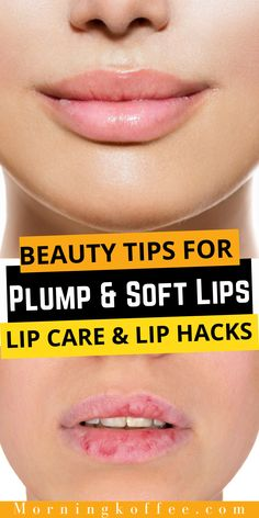 Wanting fuller lips it can both means lavishly large pillowcase lips or just means you wanna have soft, smooth and a bit more oomph lips. And like the rest of your body this both purposes starts from the inside. Start from the lip care that you're doing it regularly also some lip tips and lip hack to boost the look. Keep reading or the lip care and hacks to get plump, soft and loucious lips. #plumplips #softlips #lipcareroutine #chappedlips #fullerlip #lipcare #liphacks #pinkliptips…