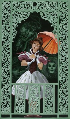The Art of Haunted Mansion 45th Anniversary Collectibles at the Disneyland Resort