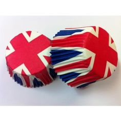 180 High Quality Union Jack Cupcake//Muffin Paper BARGAIN OF THE WEEK!!!
