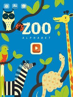 Mini-U: Zoo Alphabet, PopAppFactory, updated 2017