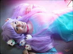 Bee and Puppycat dream sequence cosplay! Squee! So cute! She did an amazing job!