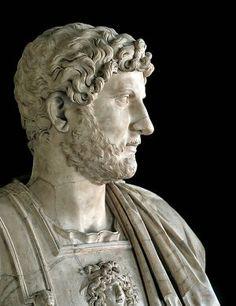 El emperador Adriano.