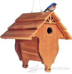 Birdhouse Plans - Outdoor Plans and Projects | WoodArchivist.com