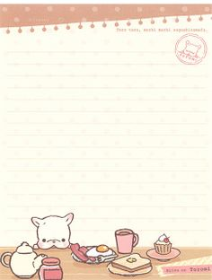San-X Koinu No Toromi Letter Set | Flickr - Photo Sharing!