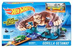Hot Wheels Gorilla Getaway Track Set Hot Wheels