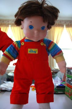 "1985 My Buddy doll.. ""Wherever I go, heeee goes. My Buddy... My Buddy... My Buddy and meeeee!"""