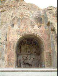 Taq-e Bostan - Kermanshah, Iran Ancient History, Art History, Middle East Culture, Iran Pictures, Cyrus The Great, Visit Iran, Sassanid, Persian Architecture, Ancient Persia