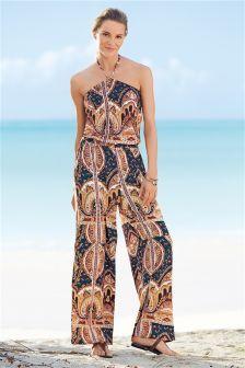 Print Jumpsuit (773560G24) | £34