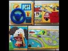 Quiet Book for Janek (no felt) Felt, Make It Yourself, Children, Books, Handmade, Painting, Youtube, Young Children, Felting