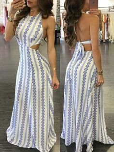 backless maxi dresses open backs . backless maxi dresses summer open backs Cute Dresses, Casual Dresses, Prom Dresses, Awesome Dresses, Formal Outfits, Trendy Dresses, Long Dresses, Casual Outfits, Boho Dress