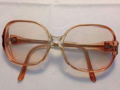 Yves Saint Laurent Logo EyeGlasses Sunglasses Frames 55-16-140 Paris  | eBay