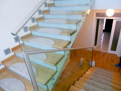 Herra Design |   Balustrade din sticla Stairs, Design, Home Decor, Interiors, Stairway, Decoration Home, Room Decor, Staircases