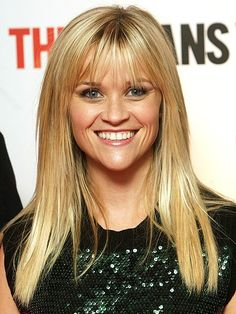 Hairstyles with Bangs: Reese Witherspoon