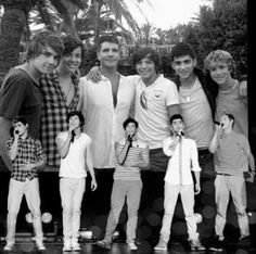 This is 75!!!!! One direction picture counting the separate boards for the boys ;) I love you 1D!!<3
